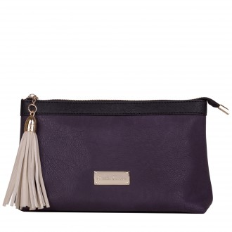 Zip Top Tassle Detailed Washbag