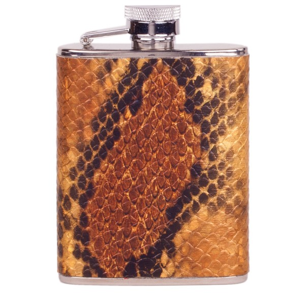 3oz Pearlescent Print Flask-captive Top