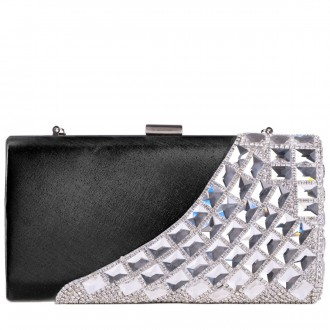 Jewel And Diamante Encrusted Clutch