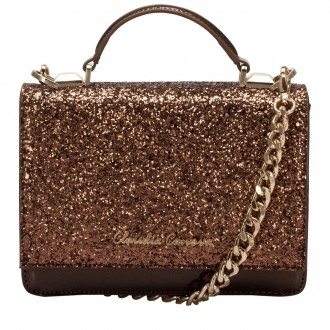 Glittered Flapover Cross Body