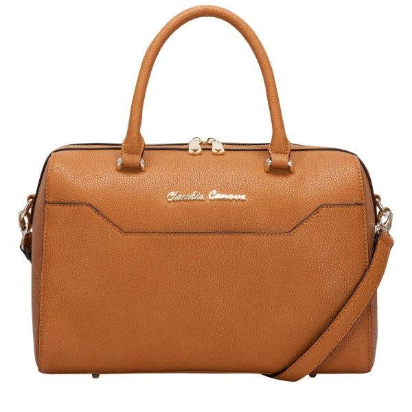 Twin Strap Zip Top Bowling Style Bag