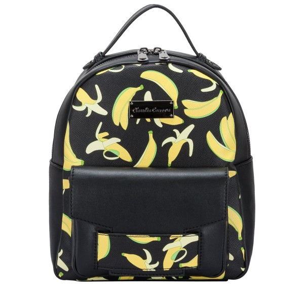 Adela Xs Banana Print Backpack
