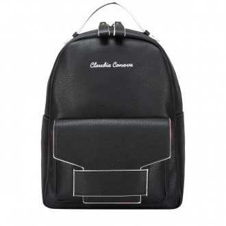 Front Pocketed Pipe Edged Backpack