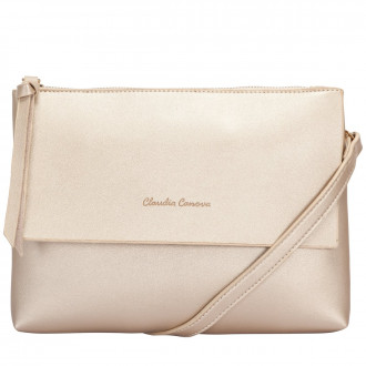 METALLIC FLAPOVER CROSS BODY