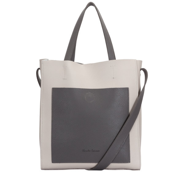 Contrast Shoulder / Tote Bag