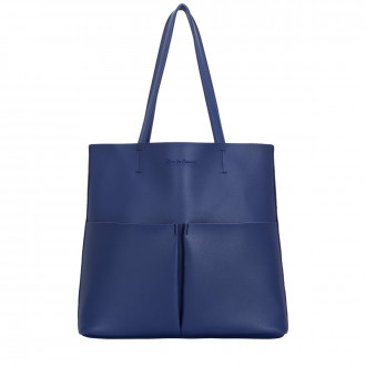 Twin Strap Twin Pocketed Tote