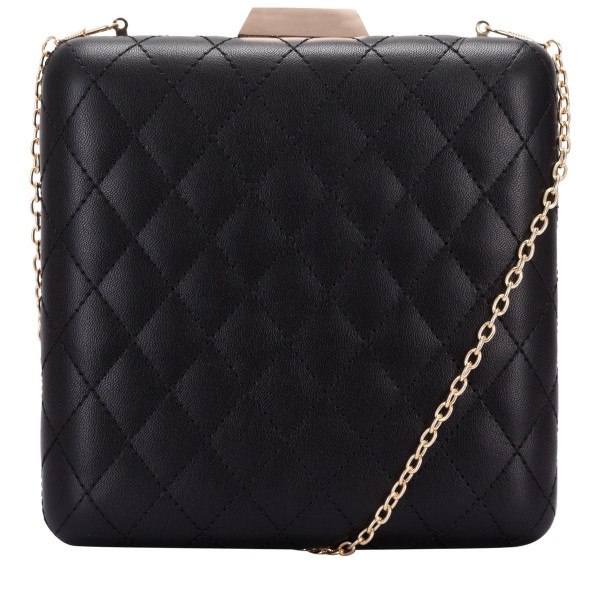 Quilted Evening Bag & Chain