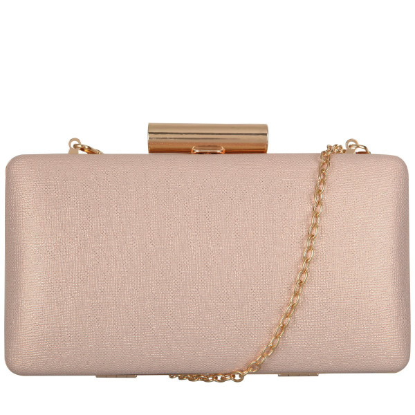 Small Rectangular Clasp Top Clutch