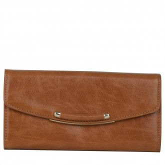Long Rounded Flap Over Purse