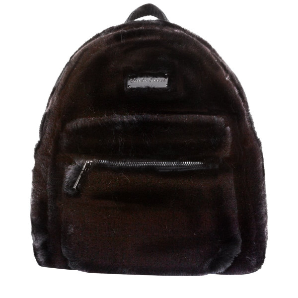 Anii Xs Backpack Zip Round Pocket Det.