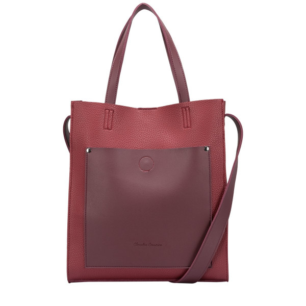 Kaye Contrast Shoulder / Tote Bag