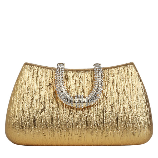 Diamante Horseshoe Evening Clutch