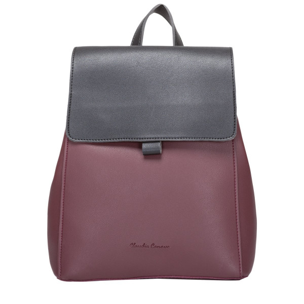 Earle Backpack Flap Over Zip Pocket