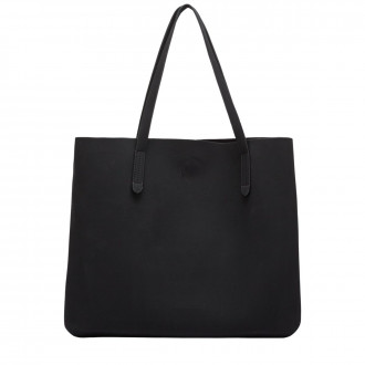 Lunor Suede Effect E/W Tote Bag