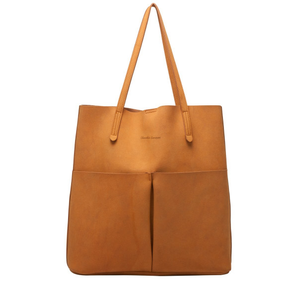 Annalise Xl Suedette Tote Bag