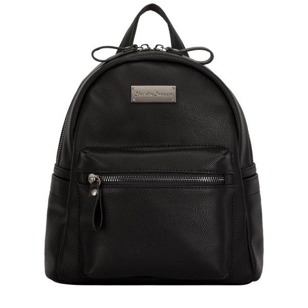 Anii Xs Backpack Zip Round Zip Pocket