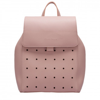 Kalilah Punch Detailed Flapover Backpack
