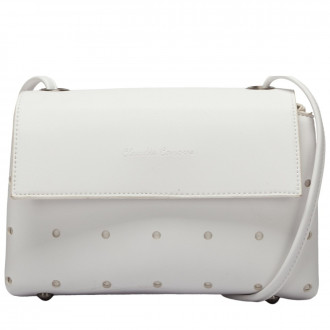 Cindi Punch Detailed Flapover Crossbody