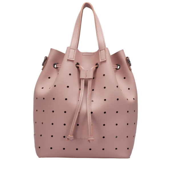 Gaya Laser Cut Bucket Bag