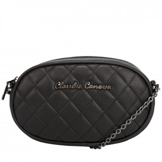 Emi Quilted Oval Shaped Belt Bag