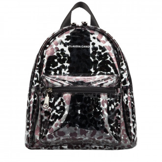 Anii XS Clear Backpack Zip Round Pkt Det