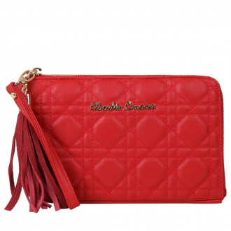Zip Round Clutch / Travel Purse