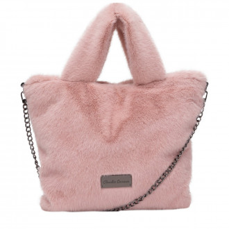Arani Twin Strap Faus Fur Grab Bag
