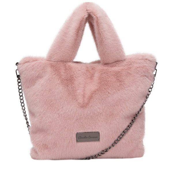 Arani Twin Strap Faux Fur Grab Bag