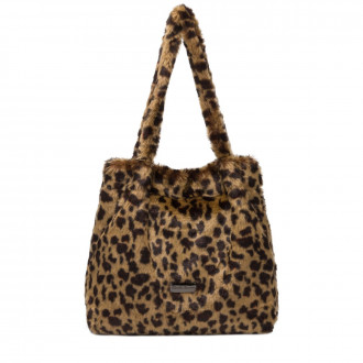 Mittie Faux Fur Tote Bag