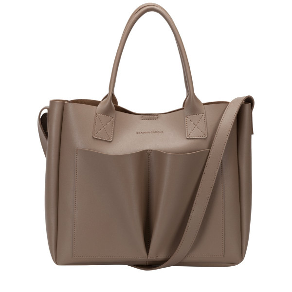 Megan Xl Front Pocketed Tote