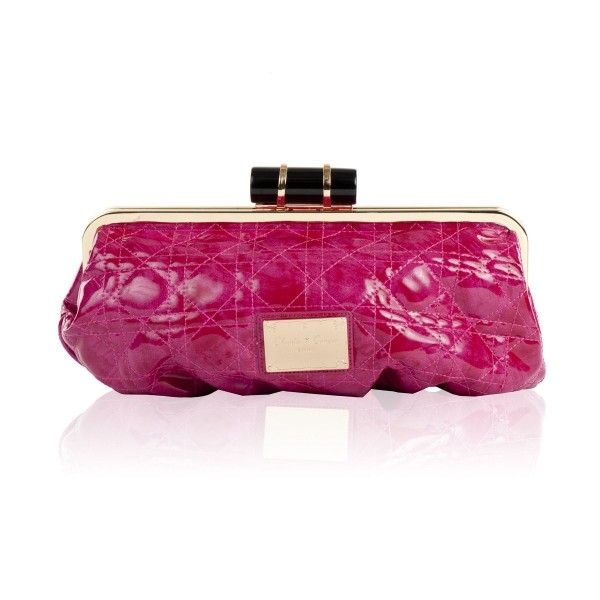 High Shine Oversized Clutch Bag