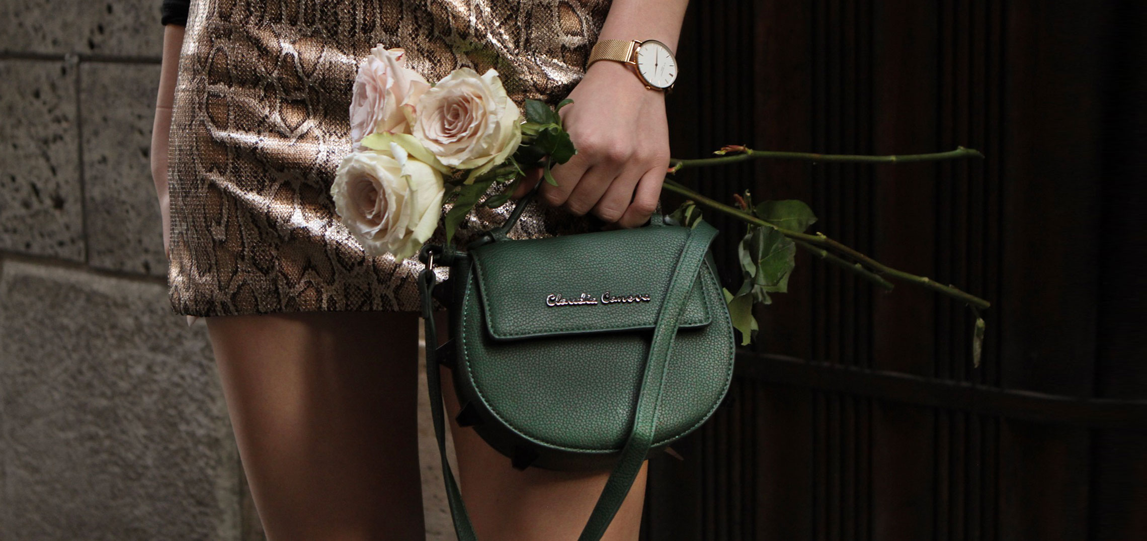 Claudia Canova - Day Wear As Evening Bags